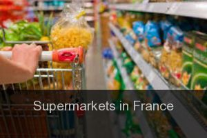 Supermarkets in France